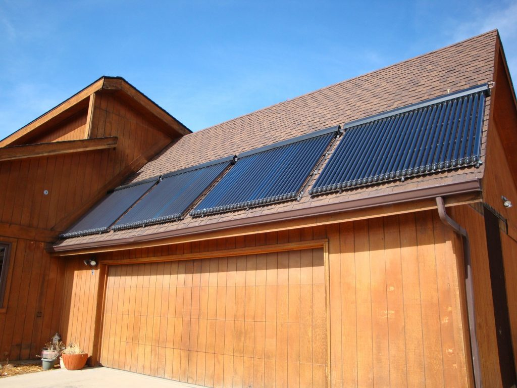 Apricus Solar Hot Water Installed on Roof